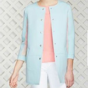 Baby Blue Jacket Structured